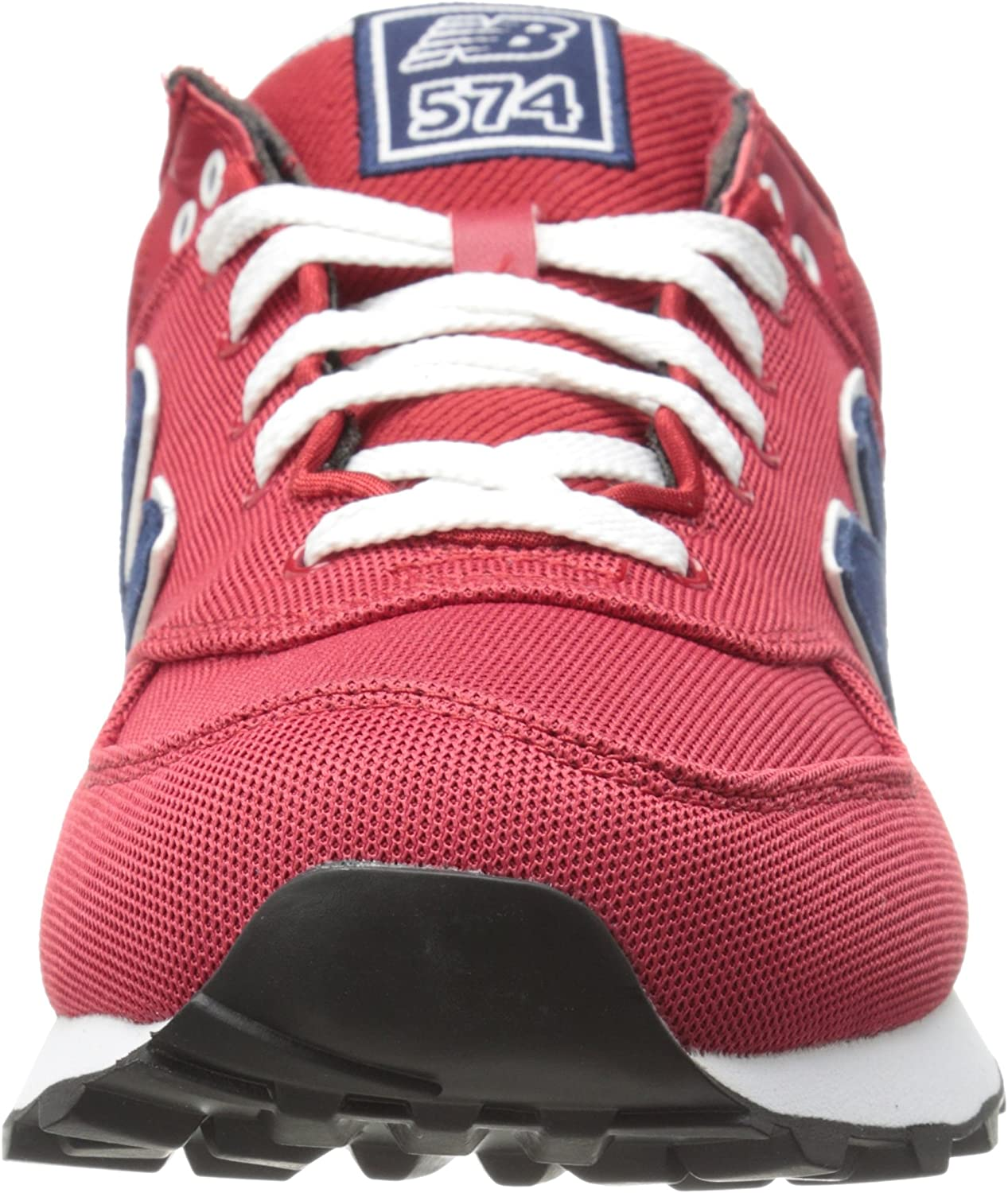 New Balance ml574por Pique Polo Pack rojo, Rojo (Red with Navy ...