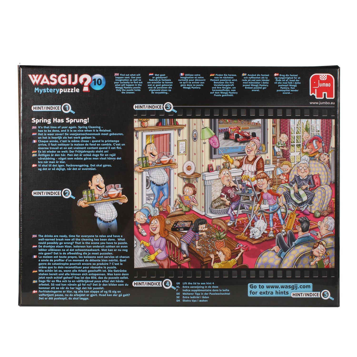 Wasgij Mystery Spring Has Sprung Jigsaw Puzzle (1000 Pieces): Amazon:  Toys & Games