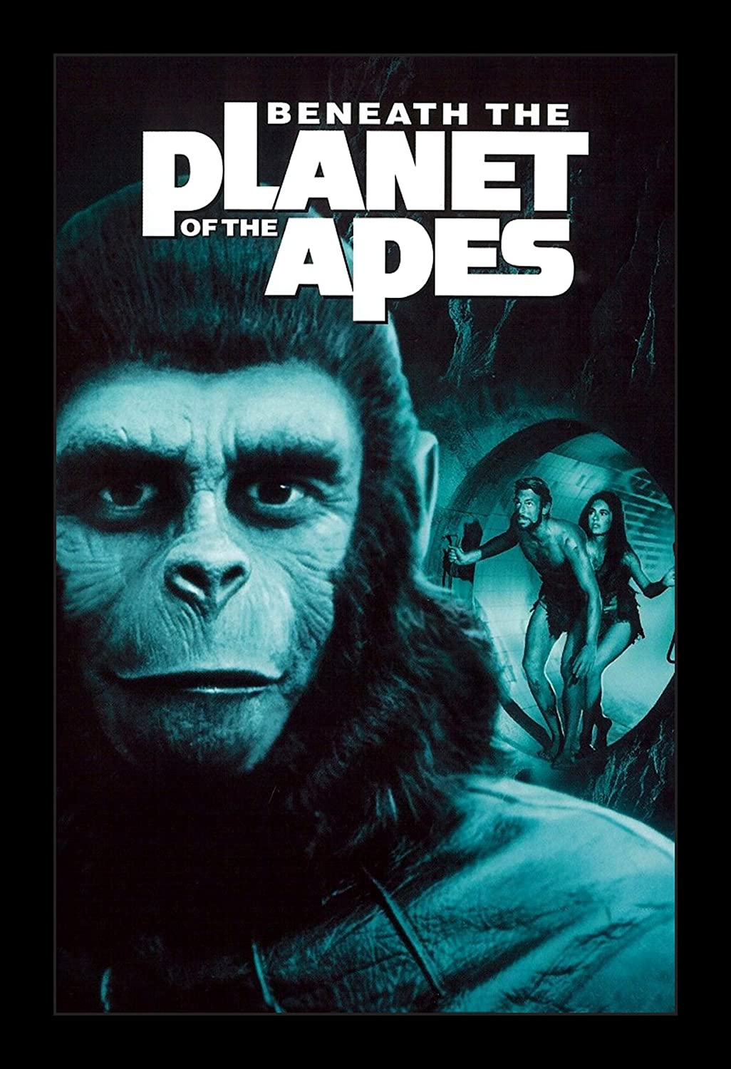 Beneath The Planet Of The Apes - 11x17 Framed Movie Poster by Wallspace