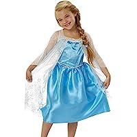 Disney Frozen 92503Elsa Vestido, azul