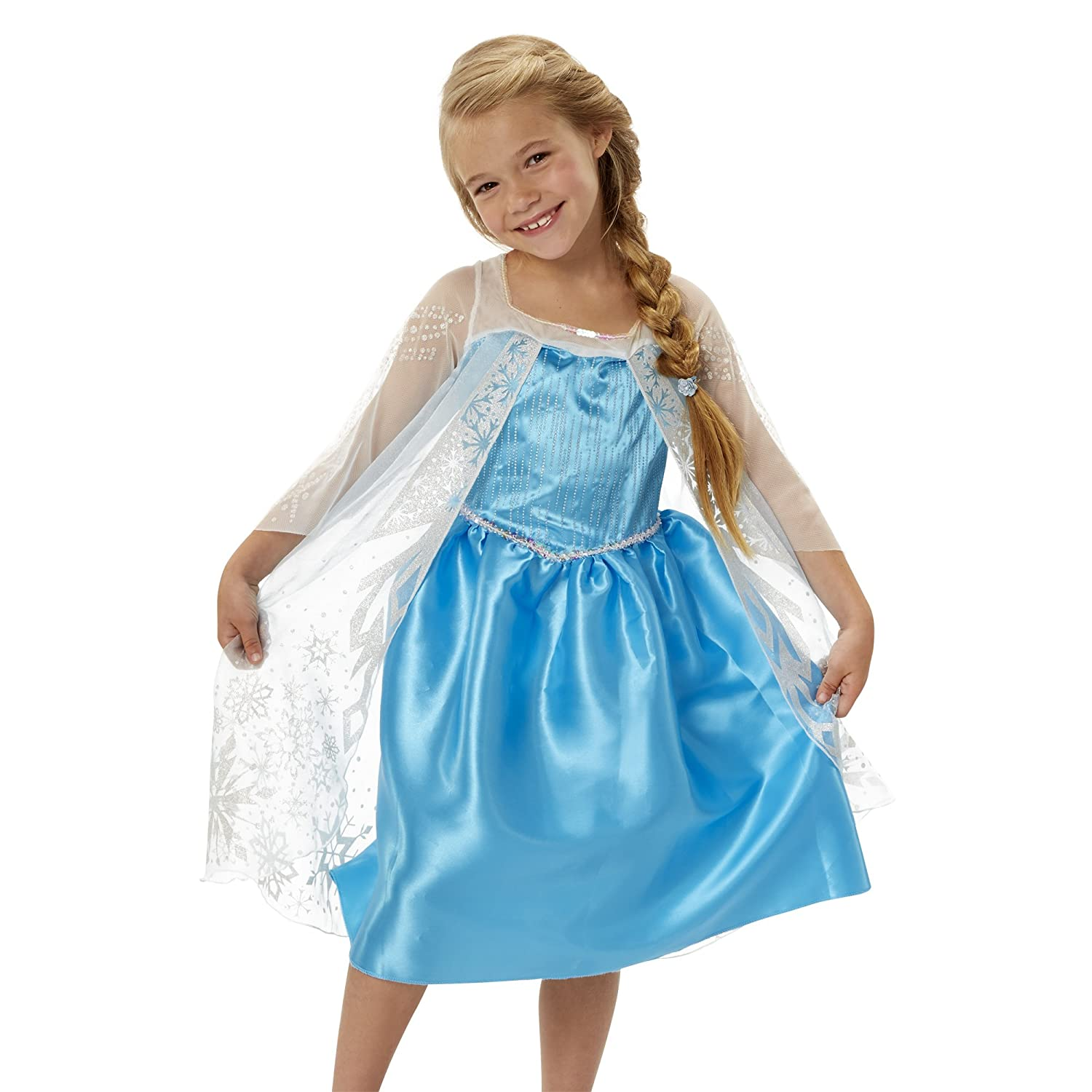 Amazon.com: Frozen Disney Frozen Elsa New Blue Dress: Toys & Games