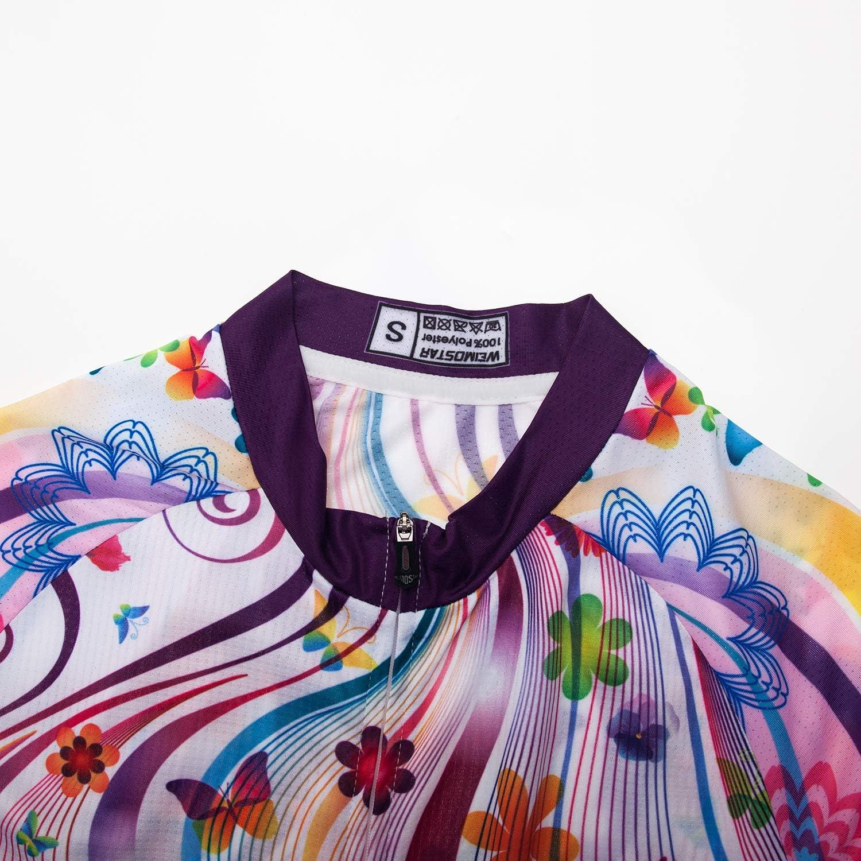Damen Radfahren Kurzarm Jersey Bike Trikot T-Shirt Rennrad Kleidung Sport Bekleidung Tops