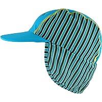 UPF45 sombreros húmedos y secos del sol para los muchachos / las muchachas del bebé, Surfs de la playa todo el casquillo del deporte Hat & la tapa de la aleta de la cara
