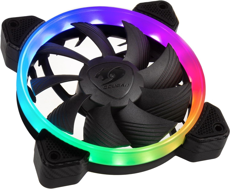 COUGAR Gaming Vortex RGB HPB 120 Carcasa del Ordenador Enfriador - Ventilador de PC (Carcasa del Ordenador, Enfriador, 12 cm, 600 RPM, 1500 RPM, 26 dB): Amazon.es: Informática