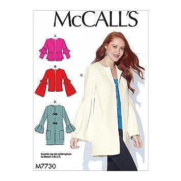 McCall \'s Patterns 7730 E5, Schnittmuster Jacken, Größen 14–22 ...