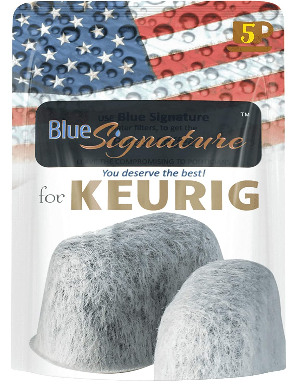 Keurig Filters 5 Premium keurig 2.0 water filter replacements compatible with keurig coffee maker filters -NOT Cusinart
