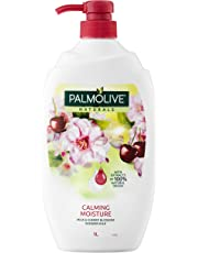 Palmolive Naturals Calming Moisture Soap free Shower Milk Body Wash Milk & Cherry Blossom 1L