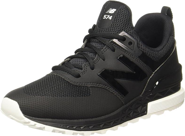 574 Sport Classic Running Shoe, Black