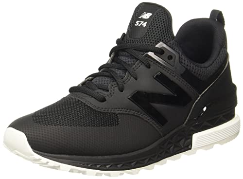 outlet store 3fb3c 4fb13 New Balance Men's 574 Sport Classic Running Shoe, Black, 8.5 ...
