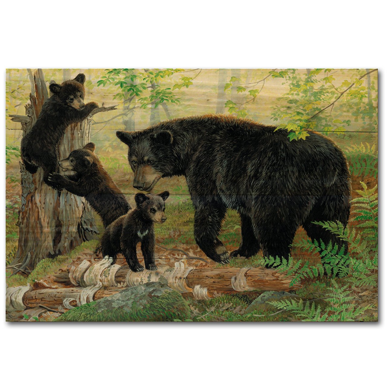 WGI Gallery WA-PT-128 Playtime Bears Wall Art
