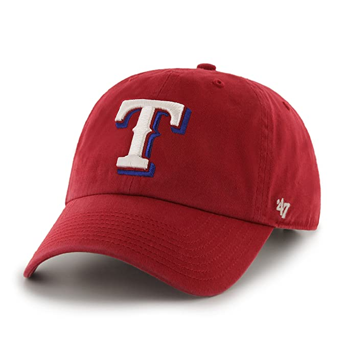 new product 135dc 27da0 Image Unavailable. Image not available for. Color  MLB Texas Rangers Men s  Clean Up Cap ...