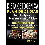 Dieta Cetogénica Plan De 21 Días Para Adelgazar Extremadamente Rápido!: Paso A Paso Menú De 21 Días, Recetas Con Proporciones