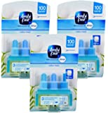 3x Ambi Pur 3Volution Air Freshener 20ml Refill - Cotton Fresh