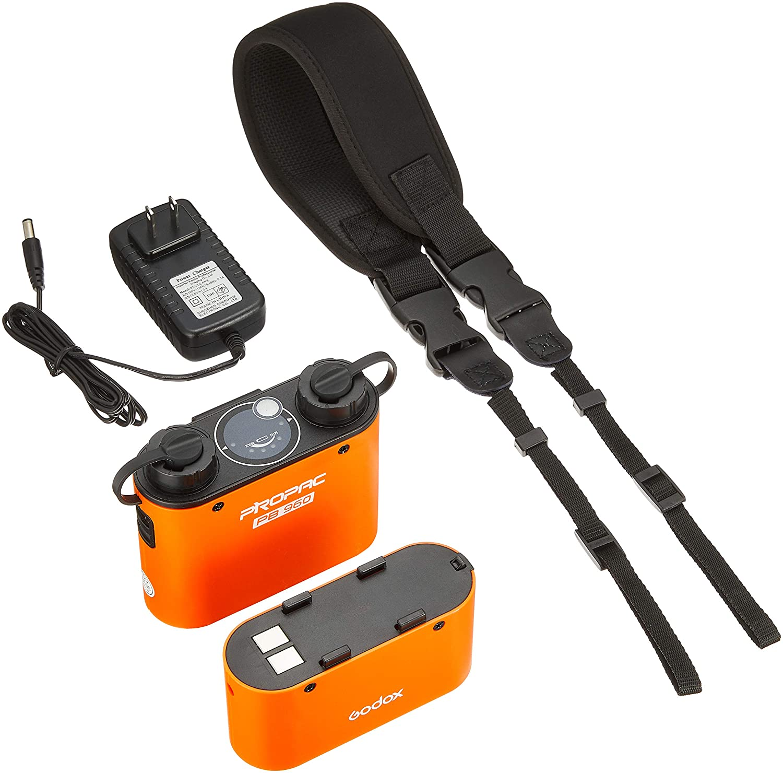 【国内正規品】 GODOX ストロボアクセサリ WITSTRO+ PROPAC PB960 オレンジ 高性能バッテリーパック 032390  オレンジ B00FZLINKS