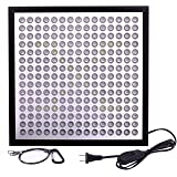 Niello LED Grow Light, 45W UFO 225 LEDs Indoor Plants Growing Lamp Bulb with 6-Band Full Spectrum Include UV IR for Germination,Vegetative, Flowering