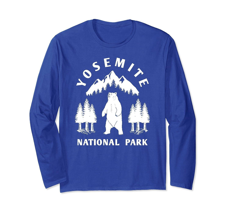 Yosemite National Park Long Sleeve Shirt, Cali Bear Apparel-alottee gift