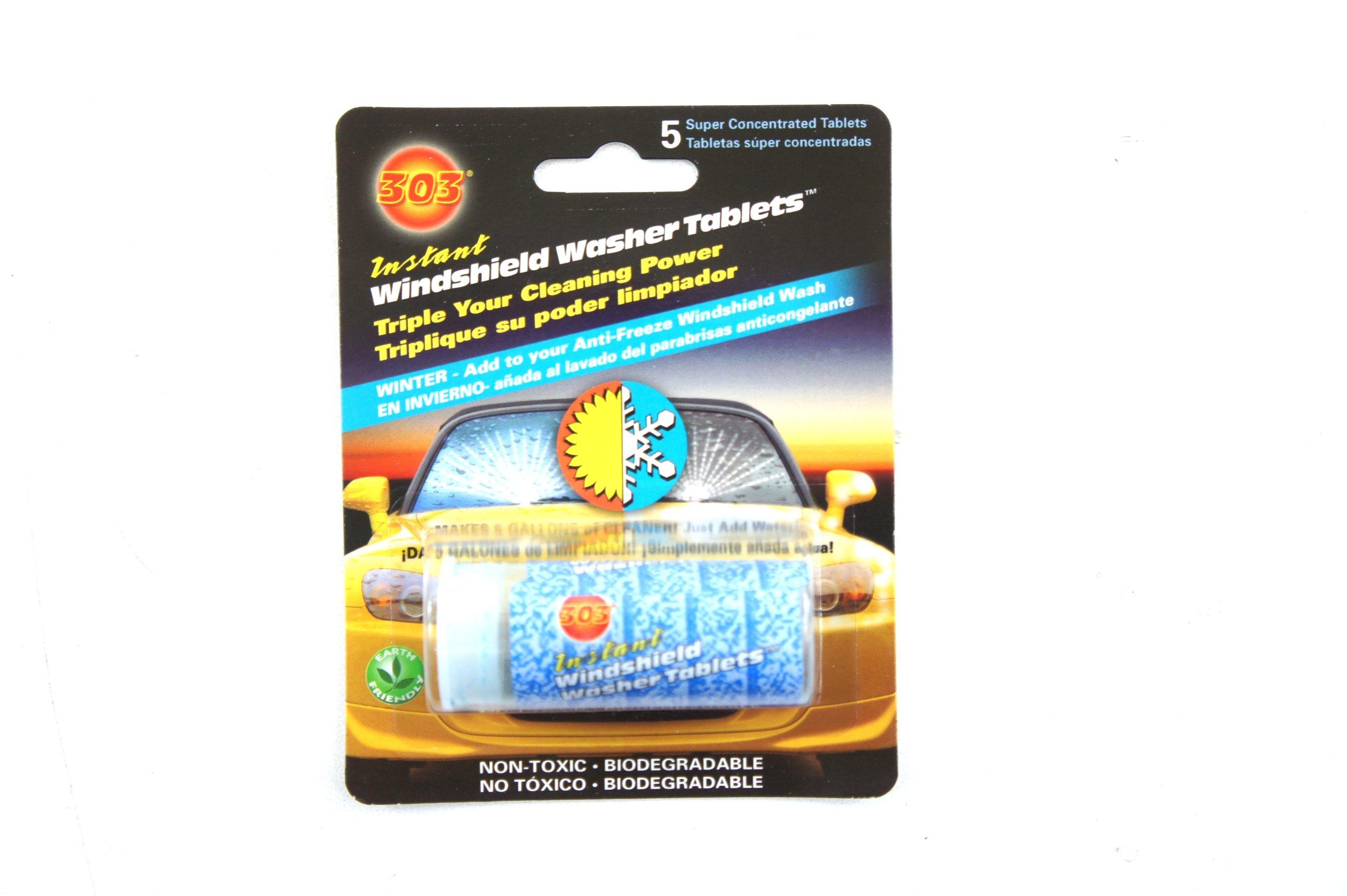 Genuine Kia Fluid UM090-CH039 Windshield Washer Tablet, (Pack of 5)