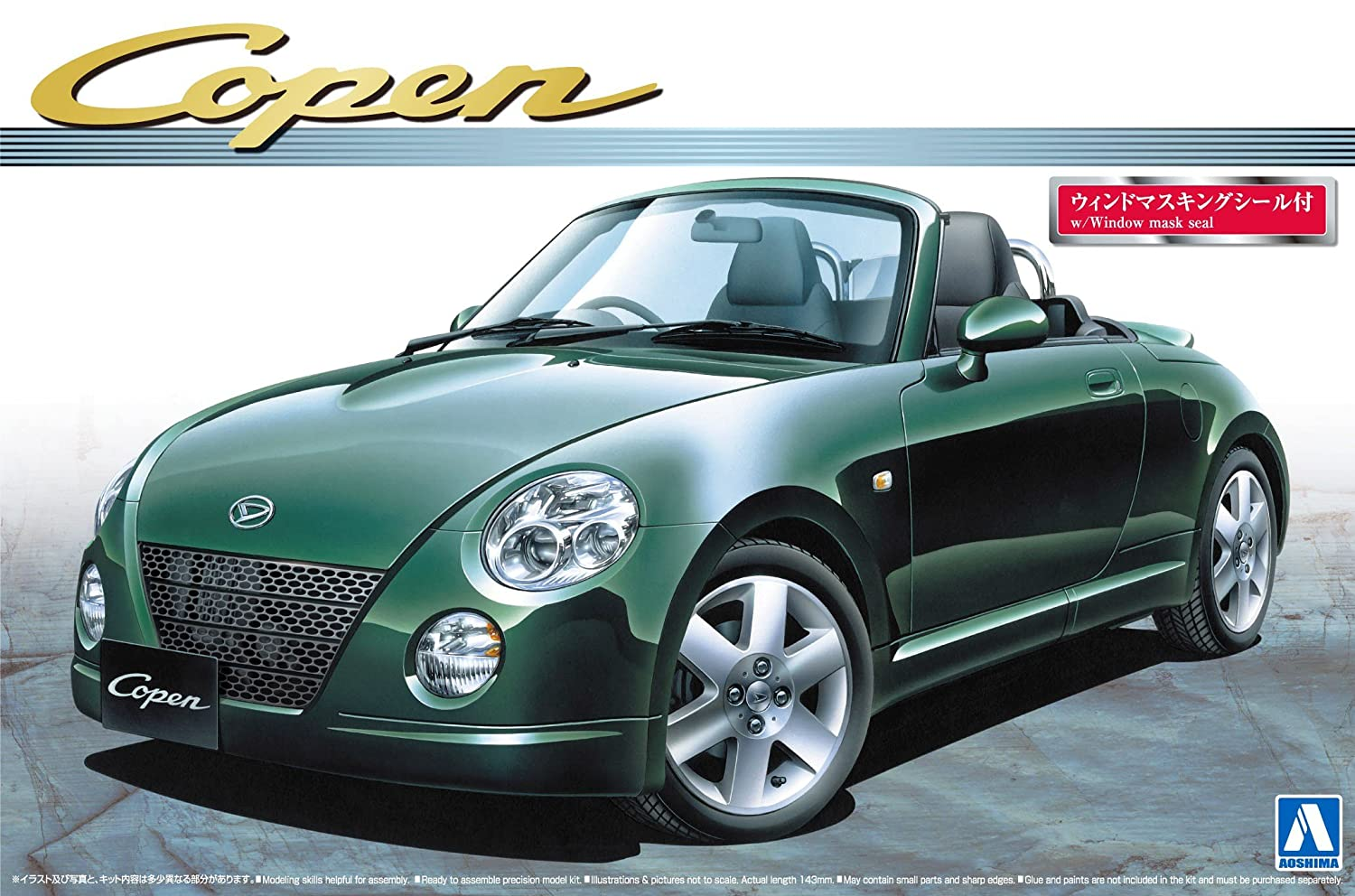 1/24 Le GT Series Meilleure voiture No.29 Copen Active Top