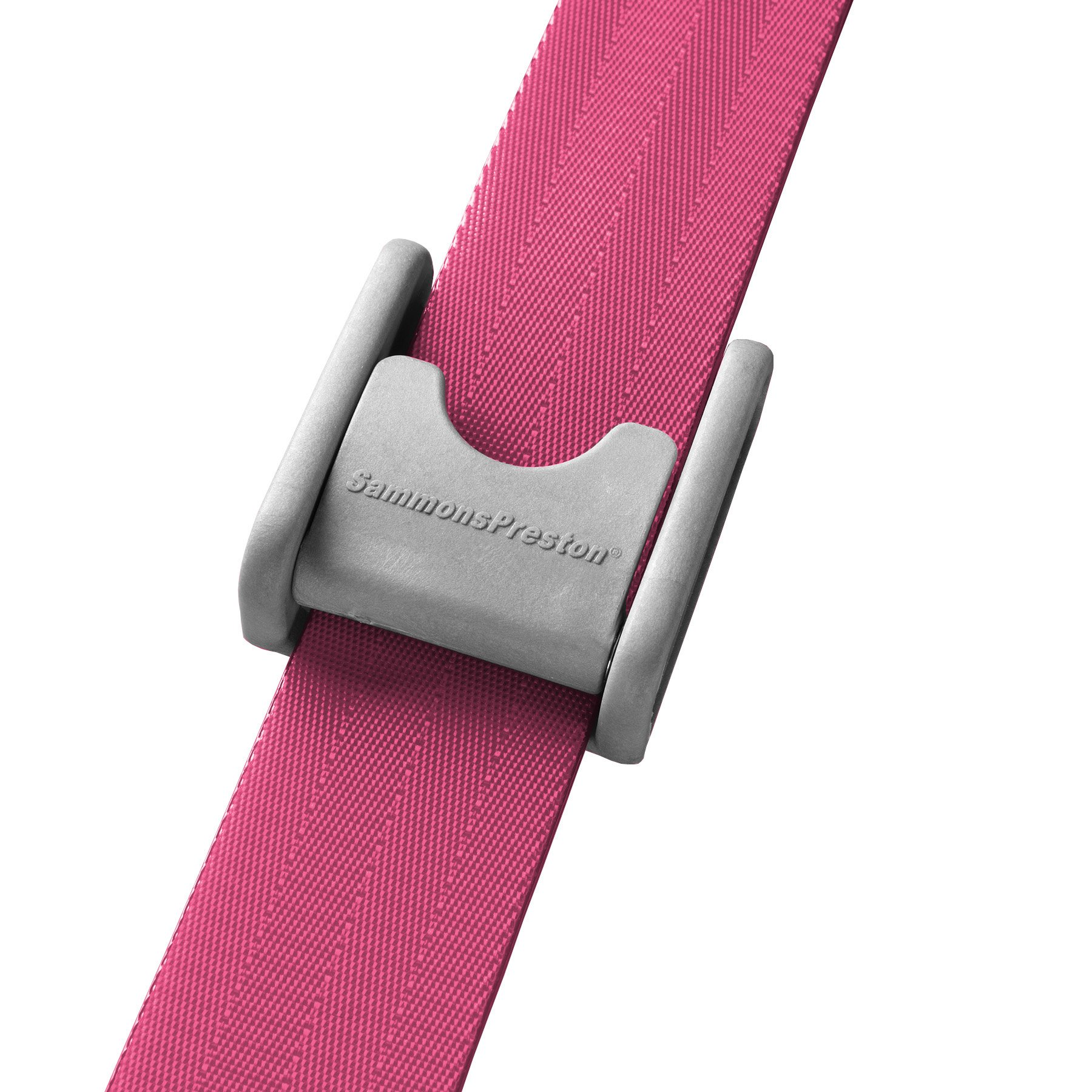 Sammons Preston Quick Clean Gait Belt, 60'' Long, Pink, Polyethylene Buckle, Secure Mobility Transfer Assist Device for Patient Transport To Bed, Chair, Car, Caregiver & Nurse Medical Safety Aid