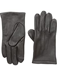 Touchpoint Men's Three-Point Leather Gloves