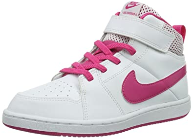 Nike Backboard 2 Mid 525651 107 Mädchen Basketballschuhe