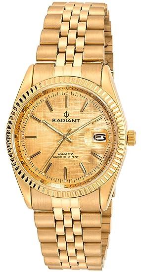 Radiant Reloj Análogo clásico para Mujer de Cuarzo con Correa en Acero Inoxidable RA333202: Radiant New: Amazon.es: Relojes