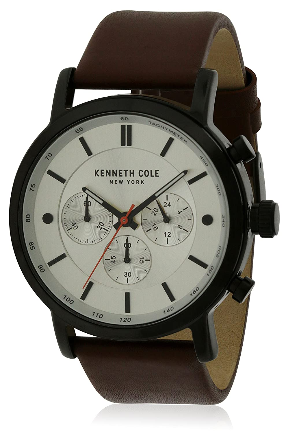 Kenneth Cole Leather Mens Watch kc50502001 B07DPXNZSX