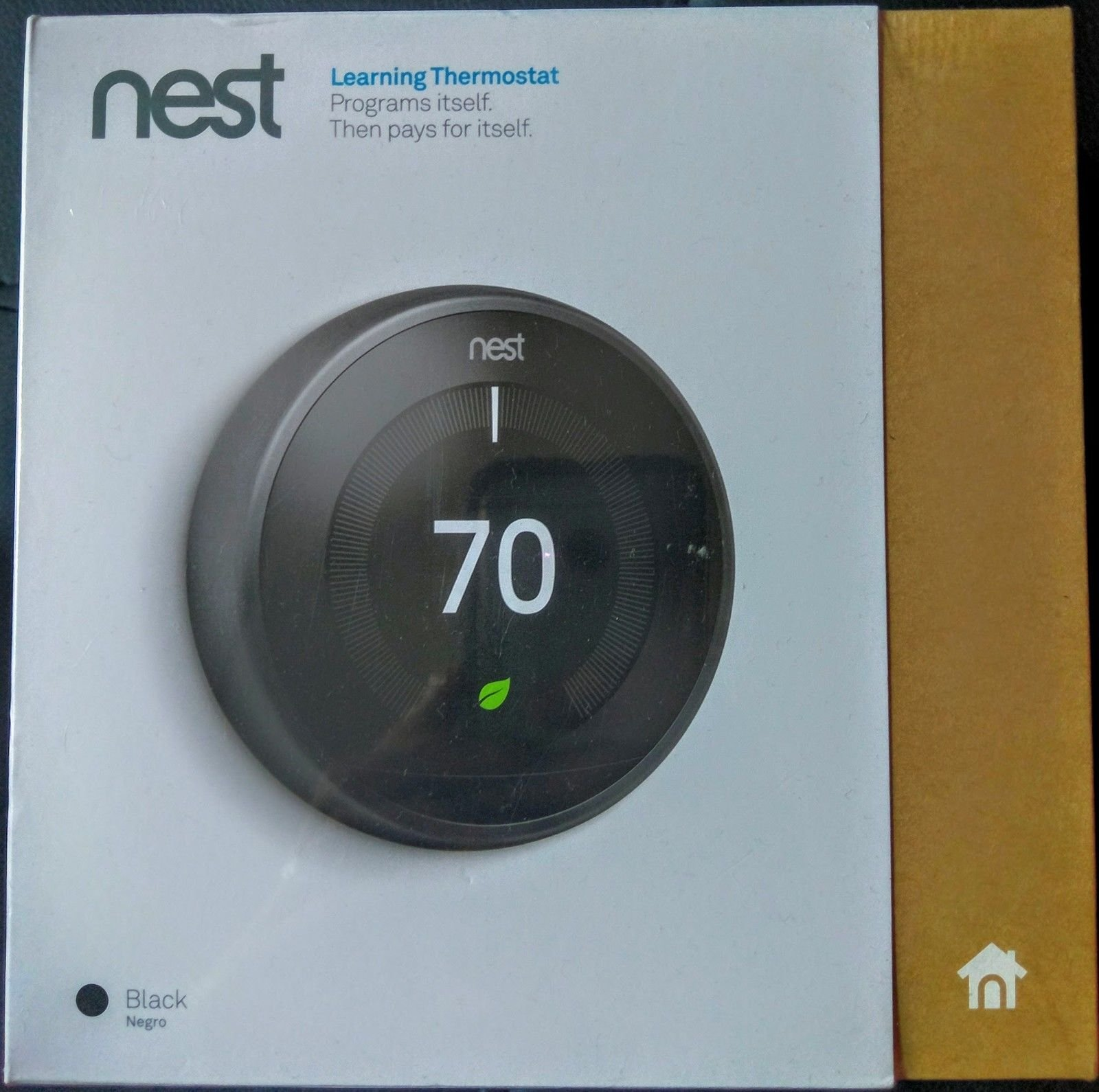 Nest Learning Professional Version 3rd Generation Thermostat, Carbon Black (T3016US) by Nest Labs