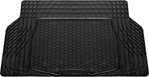 "FH Group F16403BLACK Cargo Mat Fits Most Sedans, Coupes and Small SUVs(Semi Custom Trimmable Vinyl Black) 55"" x 32"