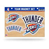 NBA Oklahoma City Thunder Die Cut Team Magnet Set