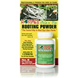 Hormex Rooting Hormone Powder #8 | for Moderately Difficult to Root Plants | Fastest IBA Rooting Powder Compound for Strong &
