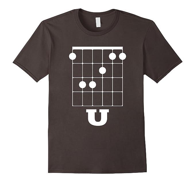 Amazon.com: Funny Guitar Shirt - F Chord U: Clothing