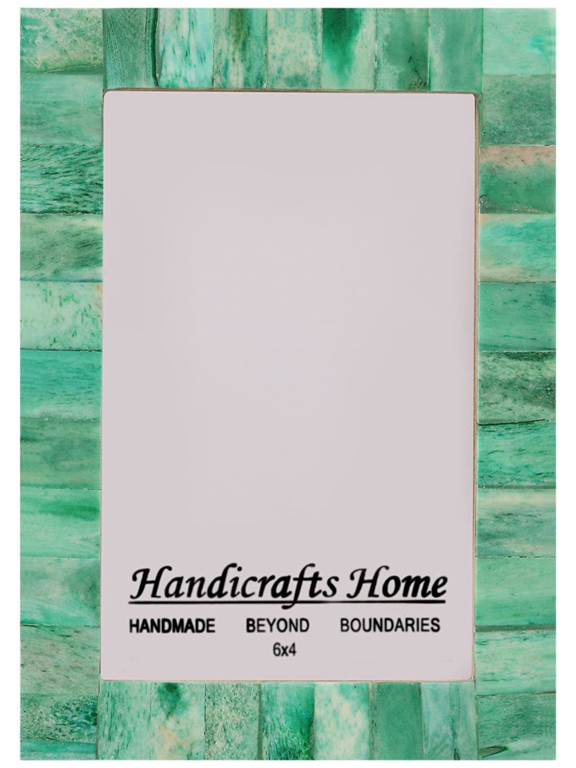 Picture Frames Photo Frame Sale Chic Shabby Vintage Wooden Handicrafts Hoome Handmade Natural Bone Classic Size 4x6 5x7 inch (4 x 6, Grey) Handicrafts Home
