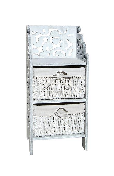 mueble cajonera cómoda mesita mesilla armario vertical de madera ...
