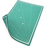 PRETEX Tappetino da Taglio 45 x 30 cm (A3) in PVC in Verde con Chiusura Automatica, Superficie | Cutting Mat