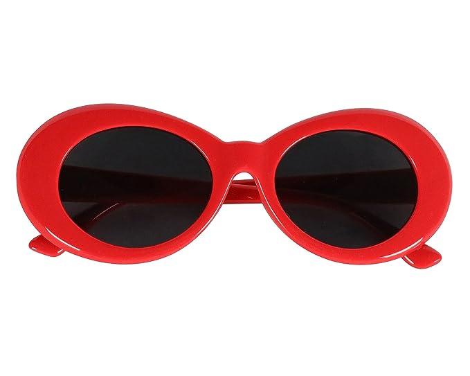 e7b3a8c4a9 Amazon.com  Retro Thick Frame Clout Goggles-Inspired By Kurt Cobain ...