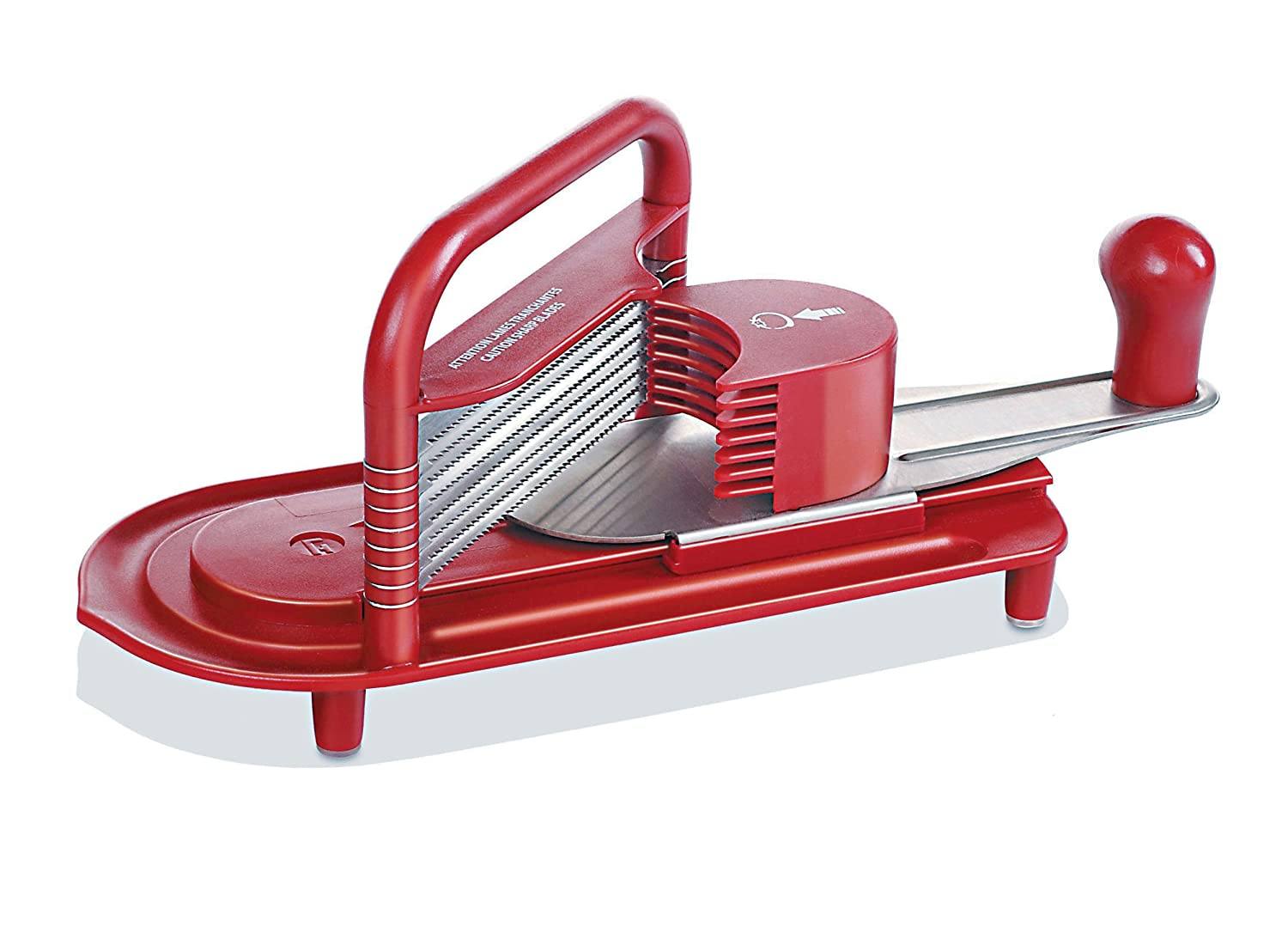 World Cuisine Tomato Cutter, Abs L 11 1/4 X W 5 X H 6 1/4 Paderno World Cuisine 49837-01