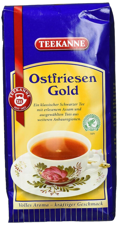 Teekanne Ostfriesengold / Ostfriesentee