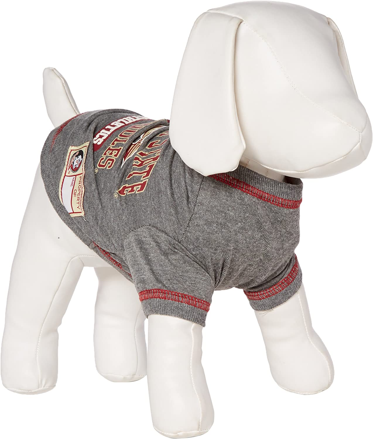 NCAA Louisiana Lafayette Ragin Cajuns All Weather-Resistant Protective Dog Outerwear XX-Small