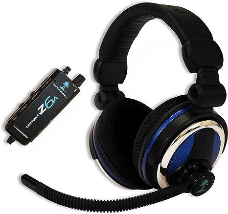 Turtle Beach Ear Force Z6A - Auriculares con micrófono (PC/Juegos ...