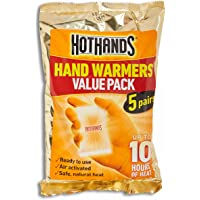 HotHands Hand Warmers 5 Pair Value Pack, 5 count, Pack of 1