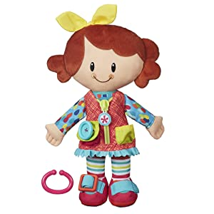 Playskool Classic Dressy Kids Girl Plush Toy for Toddlers Ages 2 and Up (Amazon Exclusive)