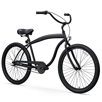 sixthreezero Men's in The Barrel 3-Speed Beach Cruiser Bike