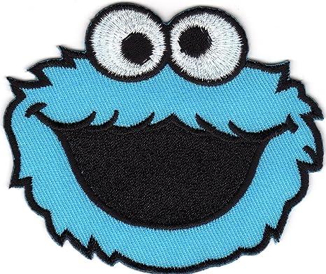 Monstruo de las galletas Barrio Sésamo Elmo Monstruo cartoon logo ...