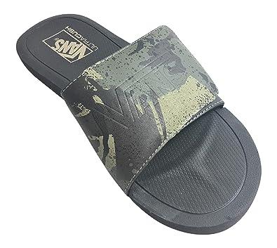 cbcd4149c6e95 Amazon.com | Vans Nexpa Slide Shore Camo/Black | Sport Sandals & Slides