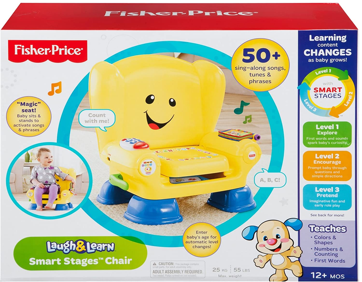Fisher price smart stages chair - Fisher Price Smart Stages Chair 3