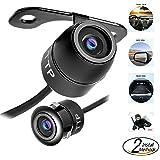 Waterproof IP68 Night Vision TOPTIERPRO Hidden Mini Camera TTP-C12B Multi-functional Car Rear View / Front View / Side View Backup Camera & Spy Camera