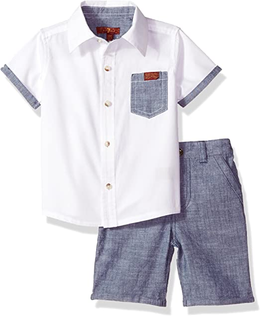 7 For All Mankind Boys Short Little
