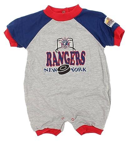 Amazon.com  Mighty Mac New York Rangers NHL Baby Boys Infant Puck ... 297126d4a