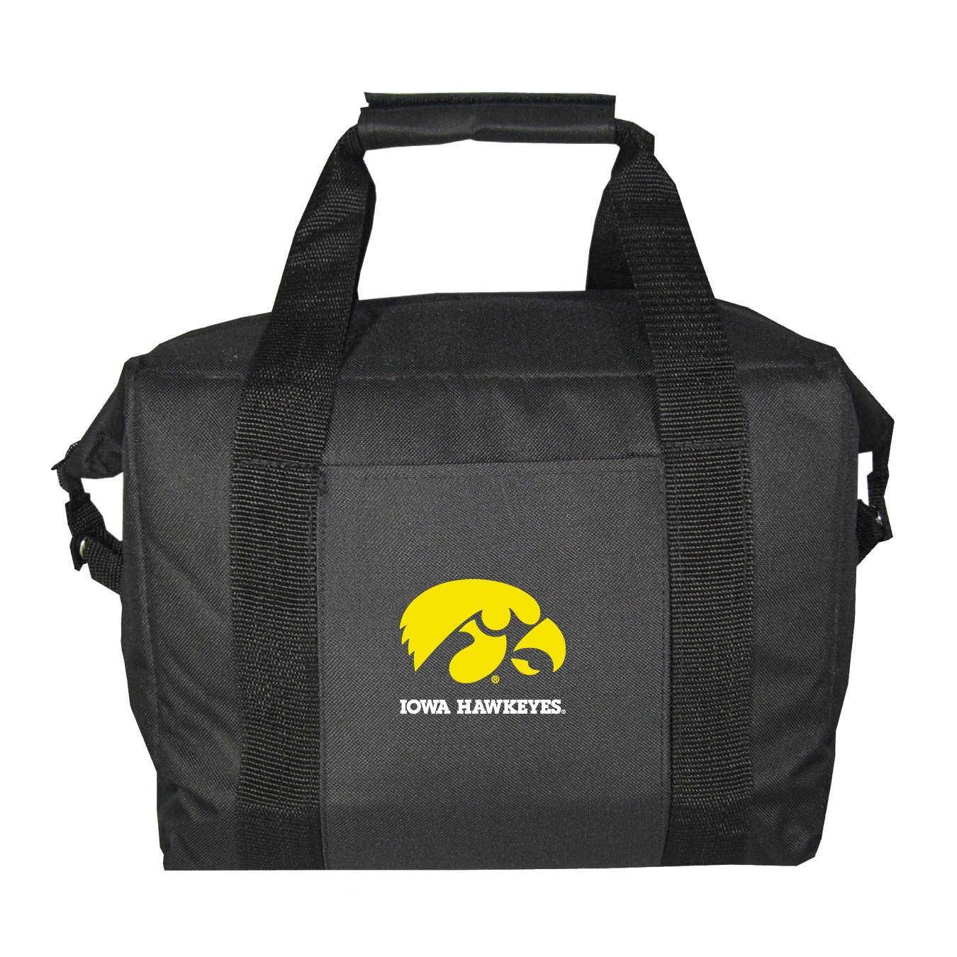 NCAA Iowa Hawkeyes Soft Sided 12-Pack Cooler Bag